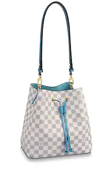 Louis Vuitton Damier Azur NEONOE N40153 blue