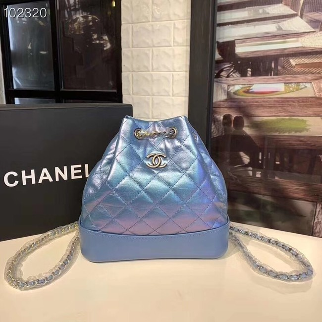 Chanel gabrielle small backpack A94485 blue
