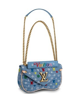 Louis vuitton NEW WAVE Medium M53692 blue