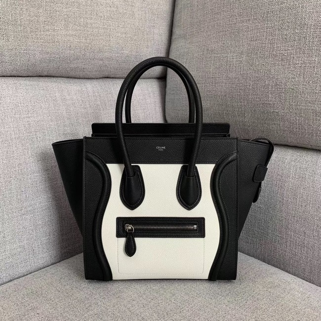 Celine Luggage Boston Tote Bags All Calfskin Leather 189793-1