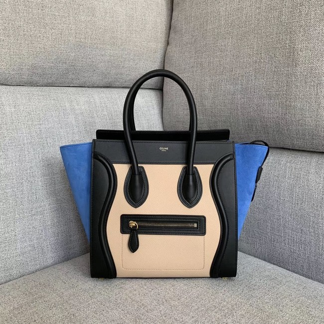 Celine Luggage Boston Tote Bags All Calfskin Leather 189793-4