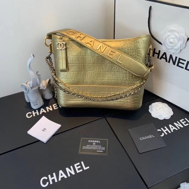 Chanel gabrielle hobo bag A93824 gold