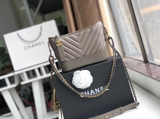 Chanel gabrielle small hobo bag A91810 grey