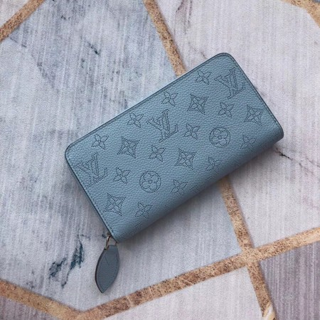 Louis Vuitton Original Zipper Wallet M58431 light blue