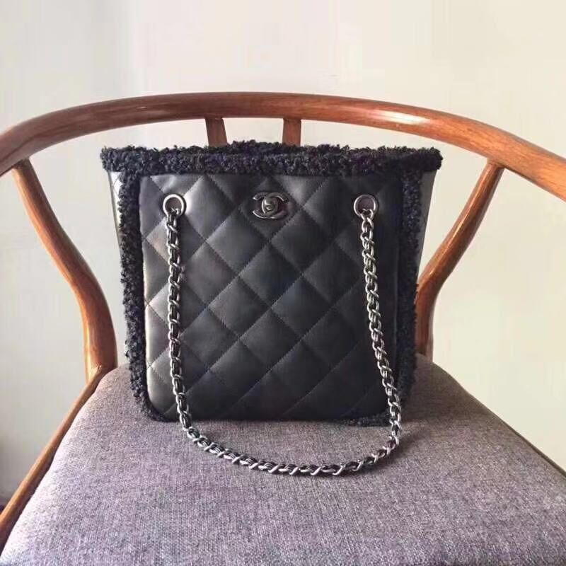 Chanel Small Shopping Bag A57738 Black