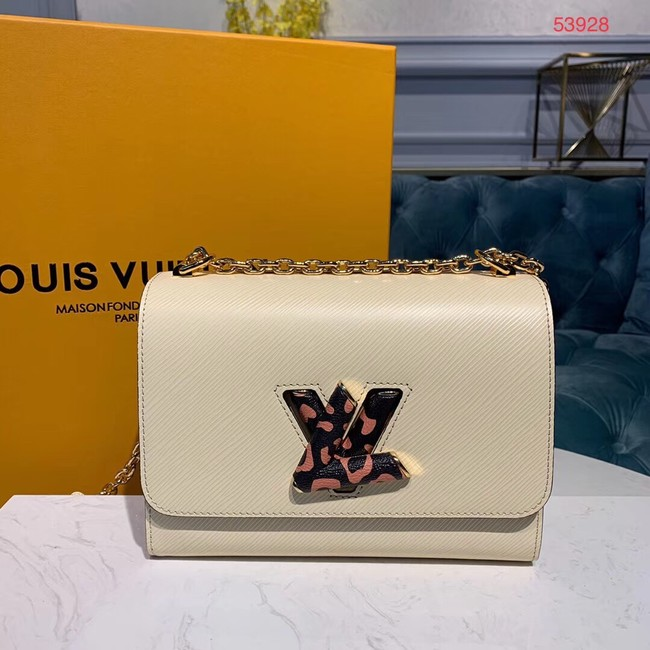 Louis Vuitton TWIST EPI Leather Bag M53928 White