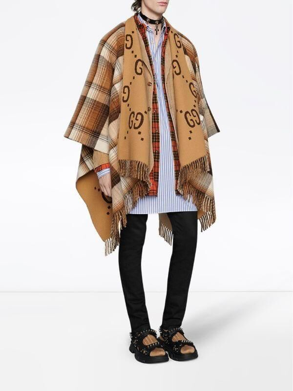 Gucci Shawl GG87469 Brown