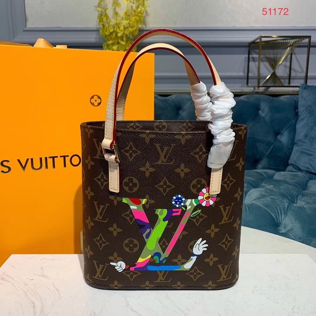 Louis vuitton monogram canvas Tote Bag M51172 Flower