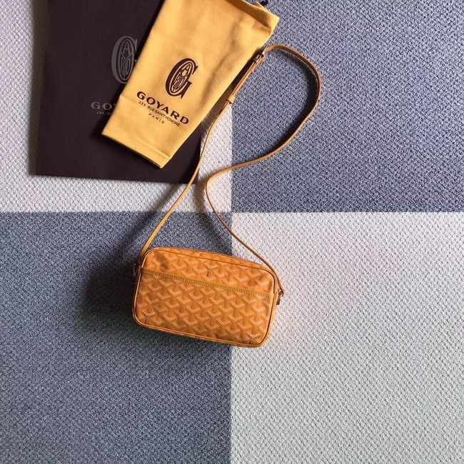 Goyard Calfskin Leather Shoulder Bag 6788 Yellow