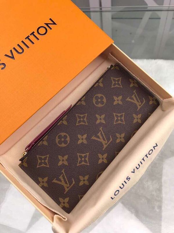 Louis Vuitton Original Zipper Wallet M55556