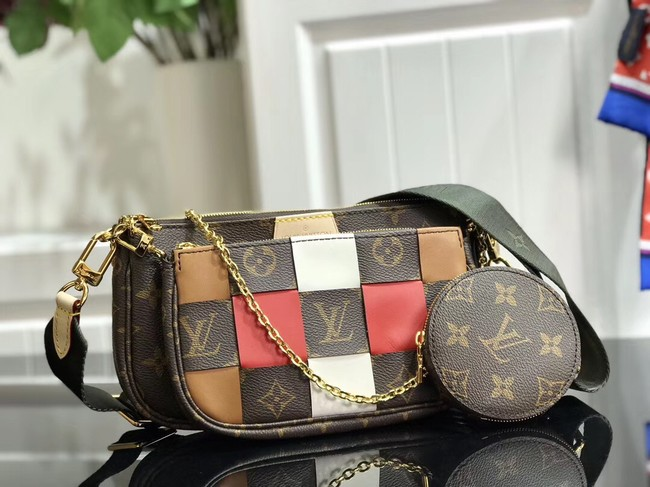 Louis Vuitton Monogram Canvas Original Leather M44823