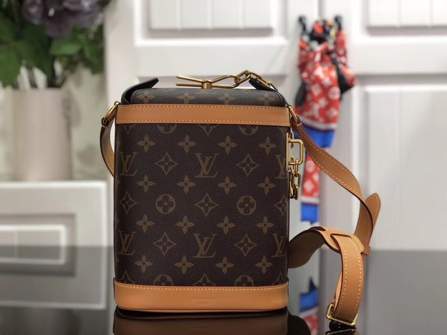 Louis Vuitton Monogram Canvas Original Leather Shoulder Bag M61111