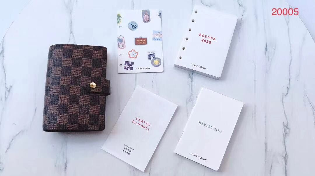 Louis Vuitton Monogram Canvas Notebook N8967