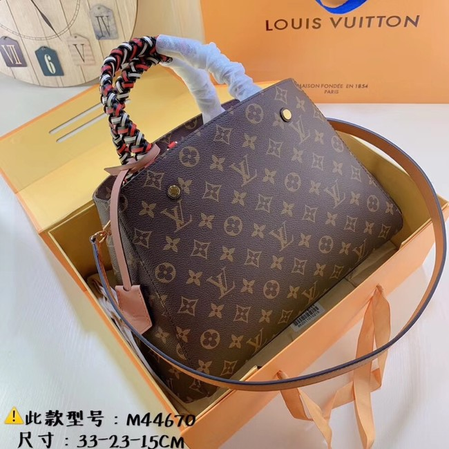 Louis Vuitton Monogram Canvas Original Leather M44670