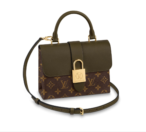 Louis Vuitton Original Leather LOCKY BB M44797 Laurier