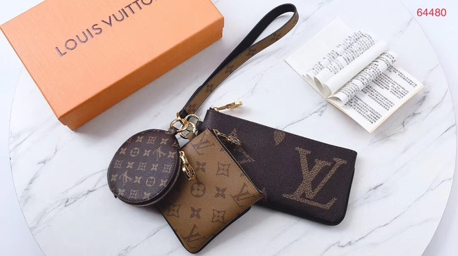 Louis vuitton Monogram Canvas Original Wallet M64480