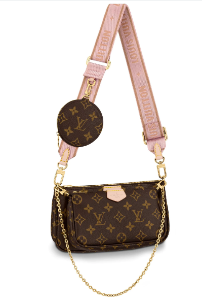 Louis vuitton original monogram canvas Shoulder Bag MULTI-POCHETTE ACCESSOIRES M44840