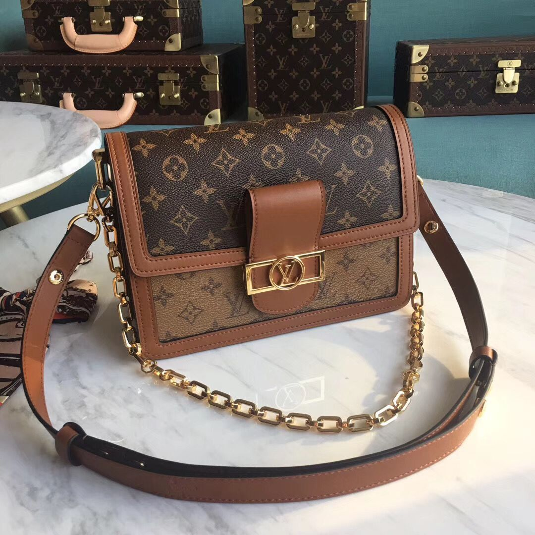 Louis Vuitton Original Leather DAUPHINE M44391