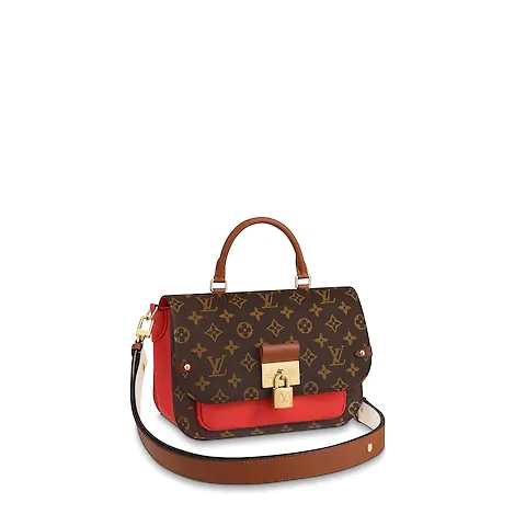 Louis Vuitton Original Monogram Canvas VAUGIRARD M44548 Coquelicot Red