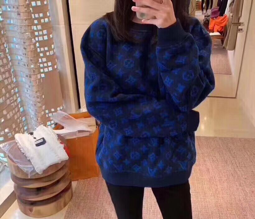 Louis Vuitton Top Quality Fashion Jacket A9017 Blue