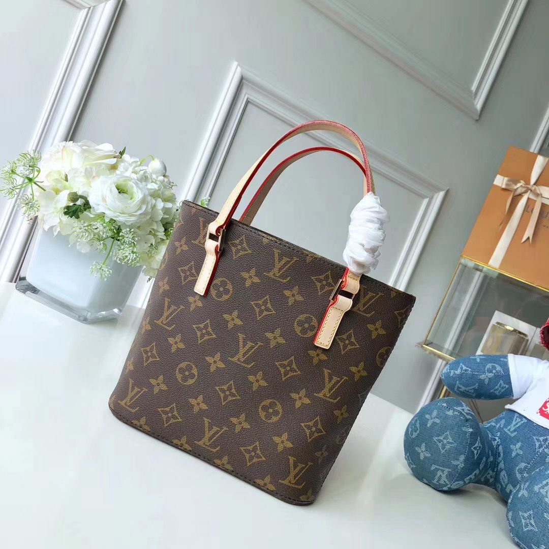 Louis Vuitton Original Leather Monogram Canvas  M51172