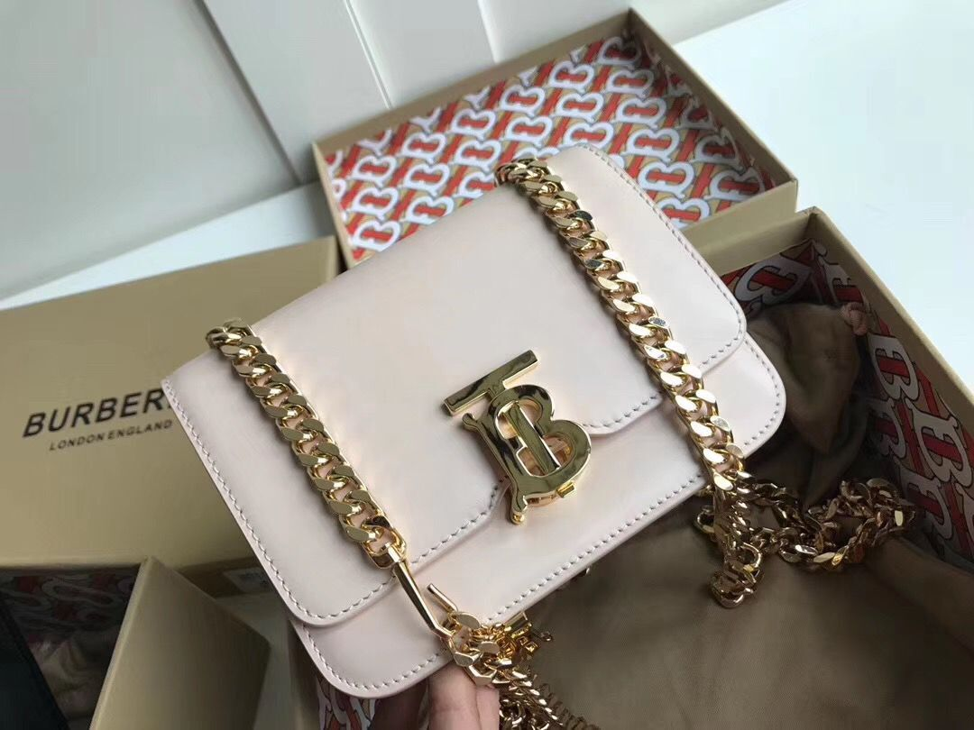 BurBerry Original Leather Thomas Belt Bag BU55698 White