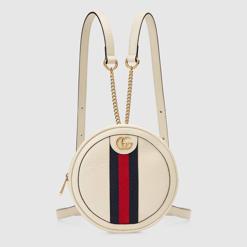 Gucci Ophidia Series Mini Backpack 598661 white
