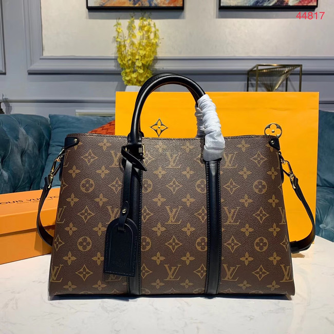 Louis Vuitton SOUFFLOT Medium bag M44817 black