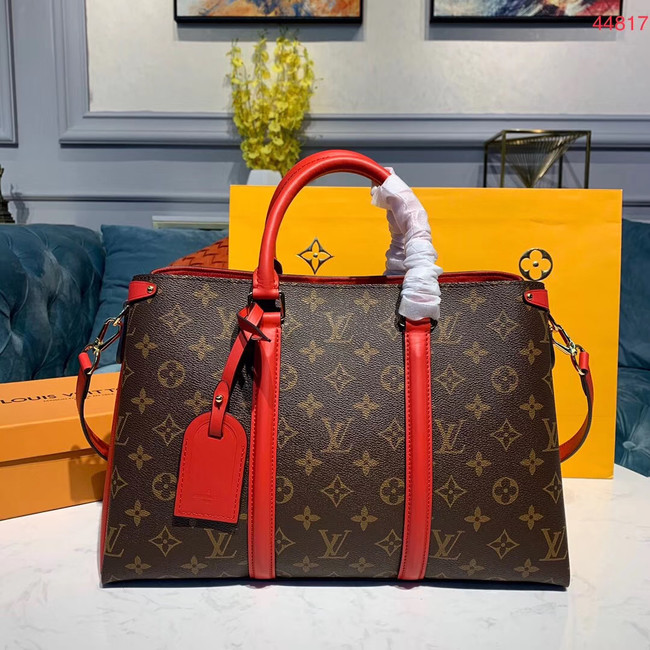 Louis Vuitton SOUFFLOT Medium bag M44817 red