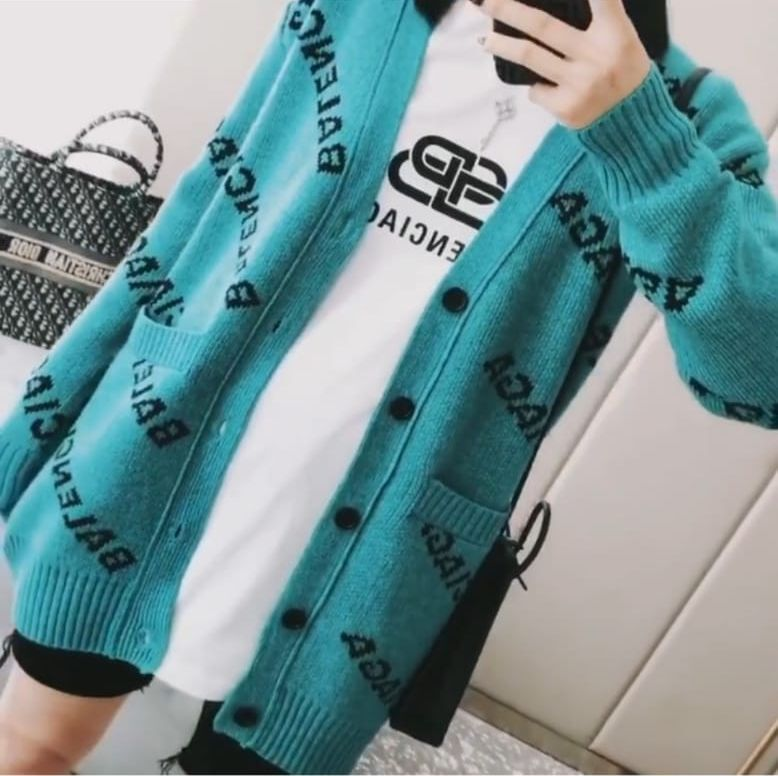 Balenciaga Clothes BA9865 Green
