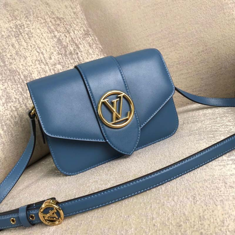 Louis Vuitton Original Smooth Leather M53950 Blue