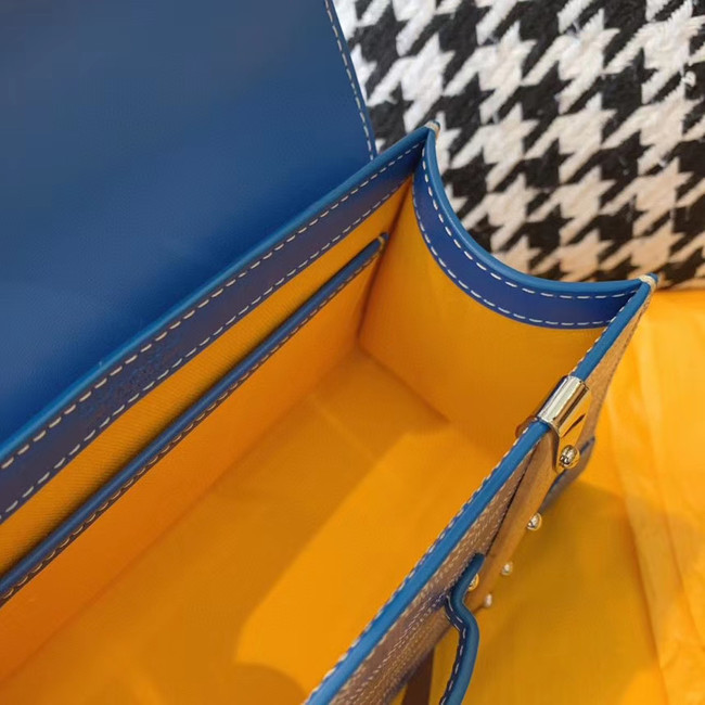 Goyard mini saigon tote bag 55632 blue