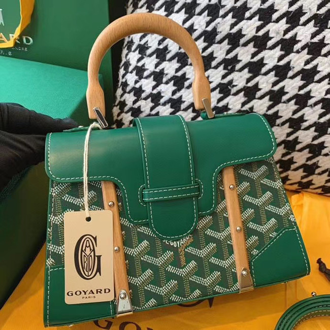 Goyard mini saigon tote bag 55632 green