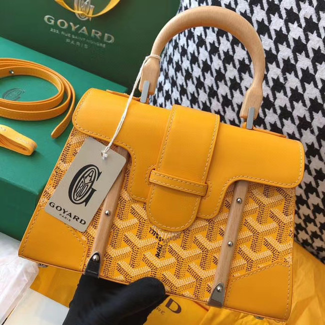 Goyard mini saigon tote bag 55632 yellow