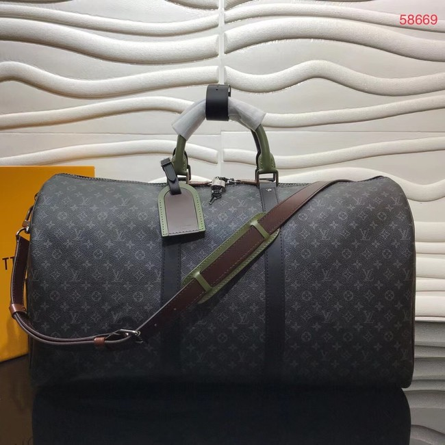 Louis vuitton KEEPALL BANDOULIERE 50 travel bag M58669