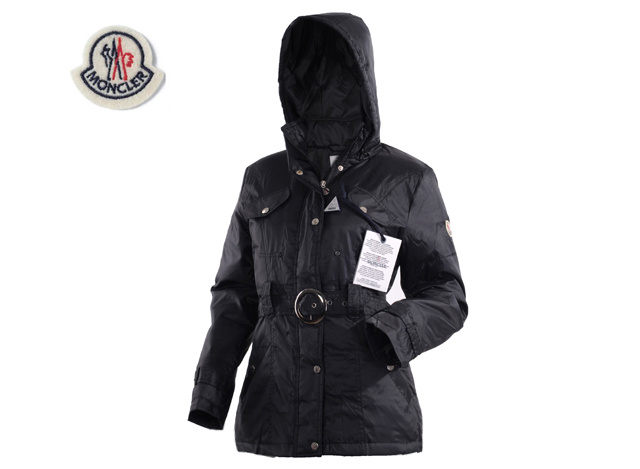 Moncler Womens Down Jacket Black