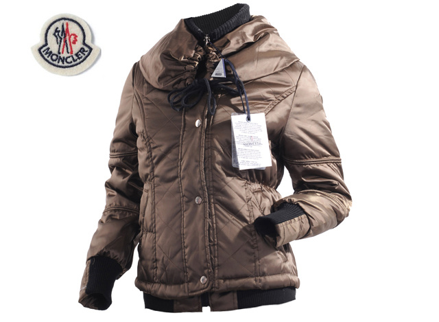Moncler Womens Jacket Coffee