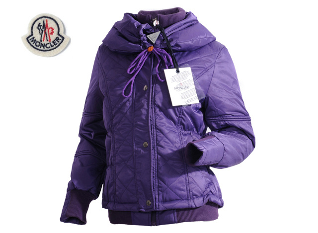 Moncler Womens Jacket Purple