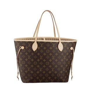 Louis Vuitton Monogram Canvas Neverfull MM M40156